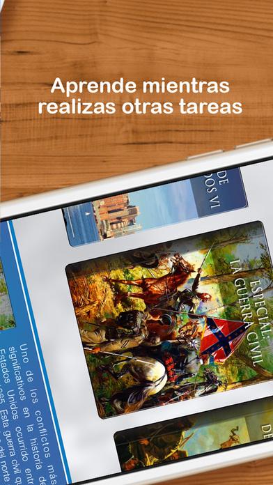 Bookshelf: Historia de los Estados Unidos iPhone Screenshot 2