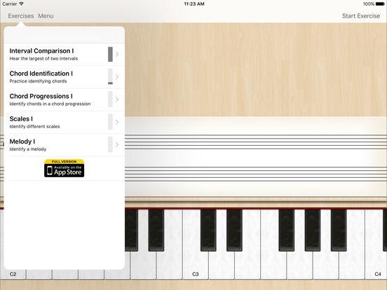 Ear Trainer Lite iPad Screenshot 2
