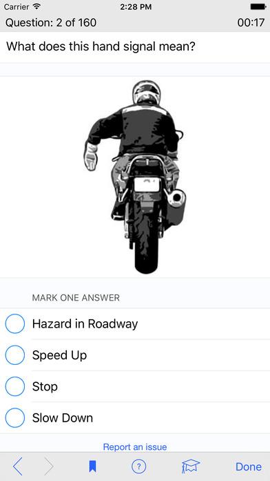 Motorcycle Test Prep iPhone Screenshot 3