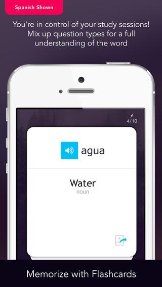 Learn Czech Vocabulary - Free WordPower iPhone Screenshot 5