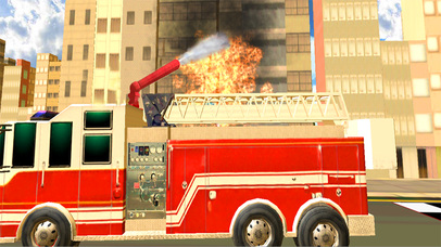 Fire Brigade Truck Simulator 2016 screenshot 5