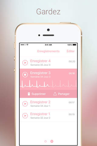 Baby Beat - Fetal Heartbeat Monitor screenshot 4