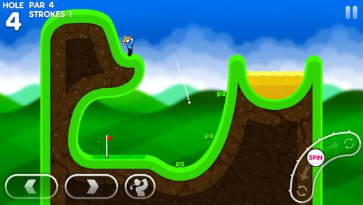 Super Stickman Golf 3 Screenshot