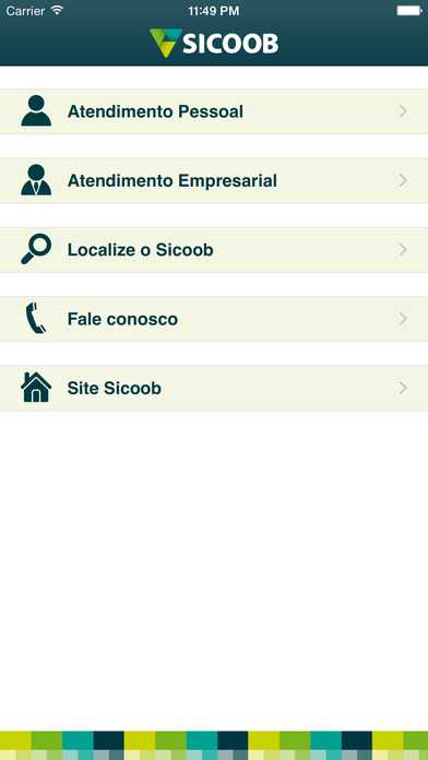 Sicoob iPhone Screenshot 3