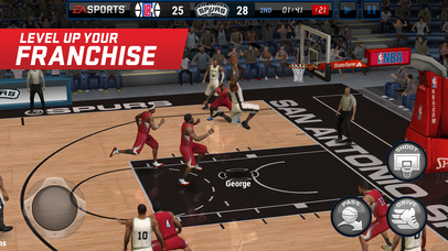Screenshots of NBA LIVE Mobile for iPhone