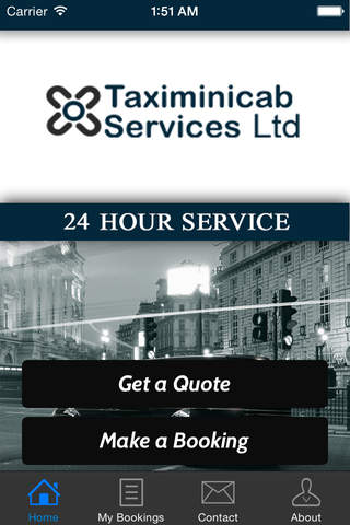 Taximinicab Services screenshot 1