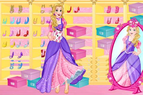 Blonde Princess Prom Shopping——Beauty Fantasy Salon/Cute Girls Make Up screenshot 1