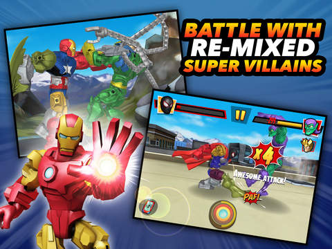 Mix+Smash: Marvel Super Hero Mashers Screenshots