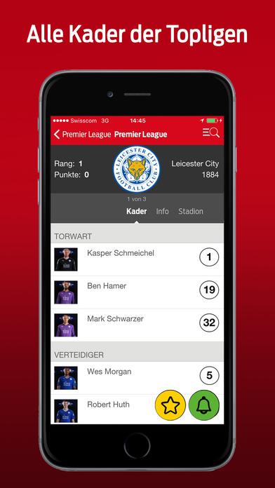 Blick Fussball iPhone Screenshot 4