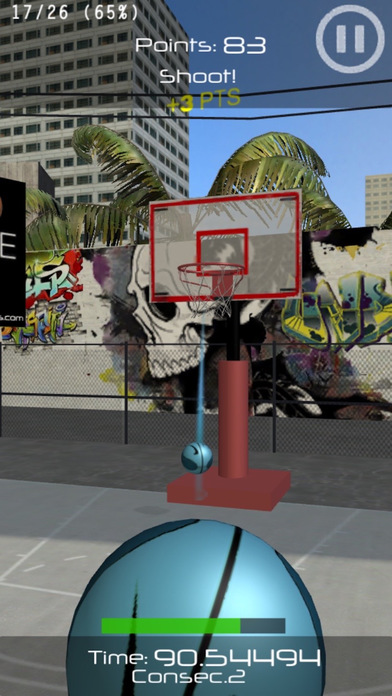 Basketball Shooter! Screenshot