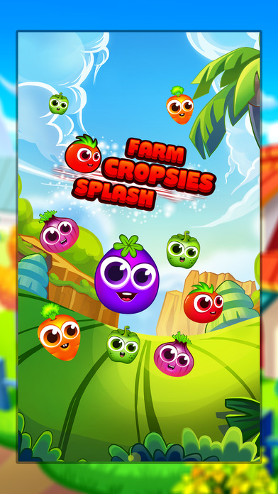 Farm Cropsies Splash - Match 3 Screenshot