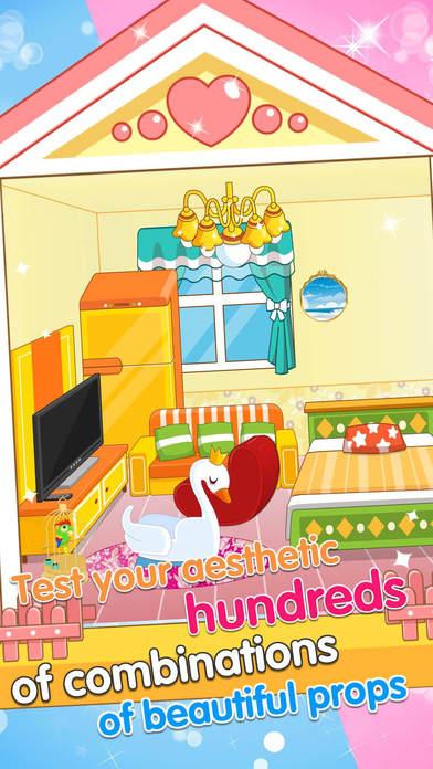 App shopper princess bedroom house decoration game for All home decoration games