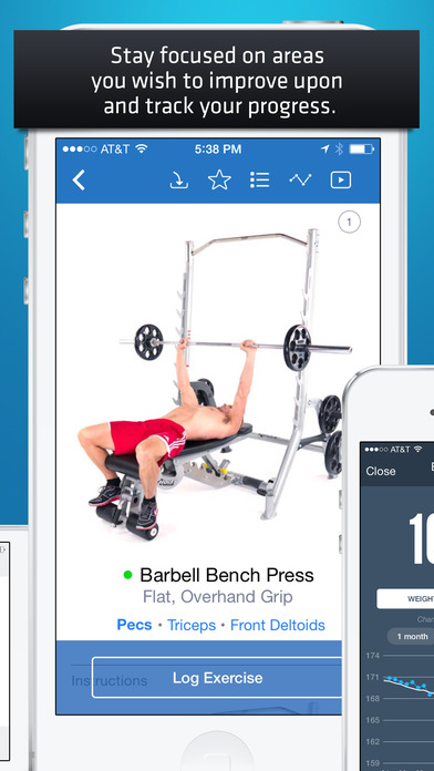 Fitness Buddy: Gym & Home Workout Exercise Trainer app image