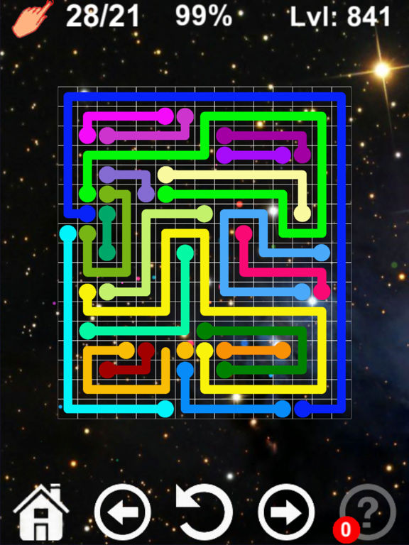 Скачать Соединять цветные линии
