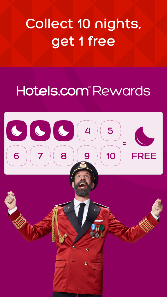 Screenshots of Hotels.com for iPhone