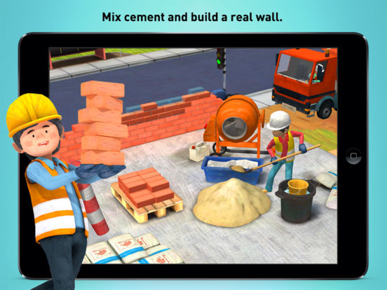 Little Builders - Trucks, Cranes & Digger for Kids Screenshots