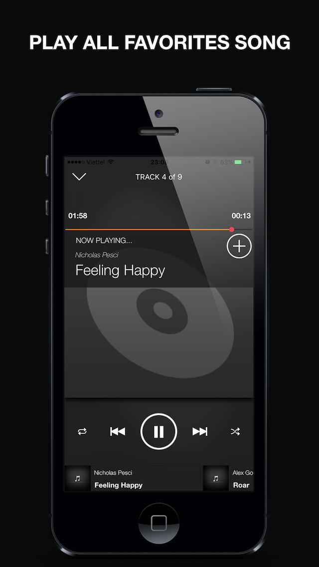Pro Music Player for Spotify Premium screenshot 2