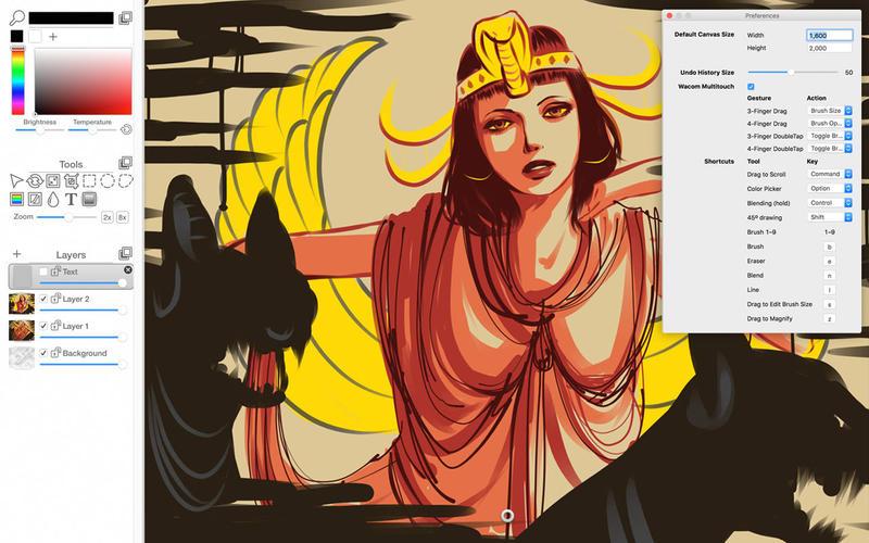 iPaint - Sketch, paint, create screen