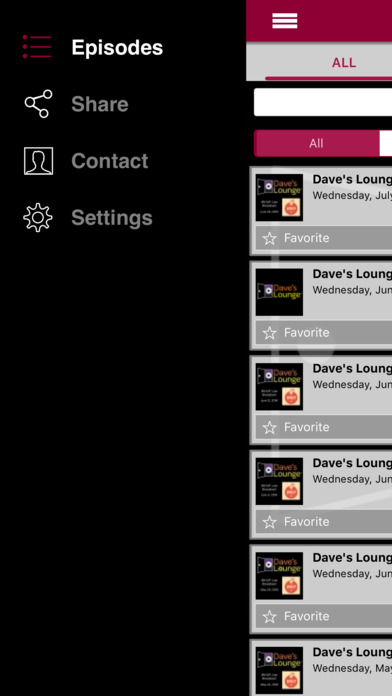 Dave's Lounge – Downtempo Music App iPhone Screenshot 4
