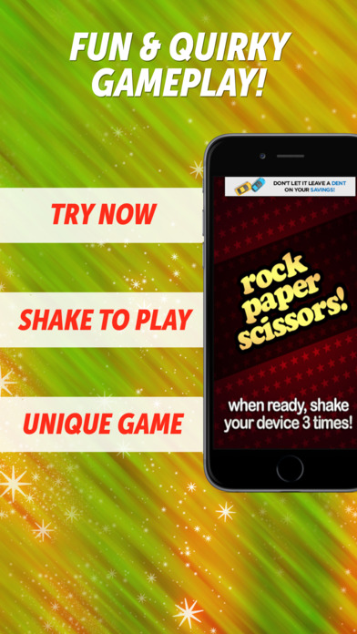 Rock Paper Scissors! iPhone Screenshot 1