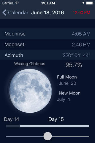 The Moon - Calendar phase of Moon free screenshot 4