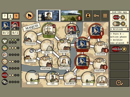 Screenshot #4 for Maquis Board Game