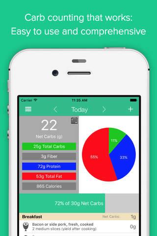 Carb Manager: Keto Diet App screenshot 1