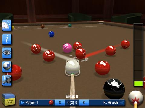 Pro Snooker & Pool 2015 Screenshots