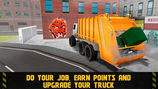 City Garbage Truck Driving Simulator 3D Full Screenshots