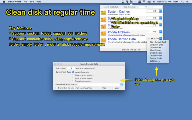 how to clean mac os x hard drive