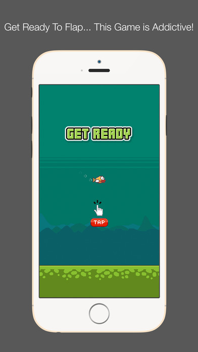 Flappy Fish - Cuter Than Any Fish Screenshot