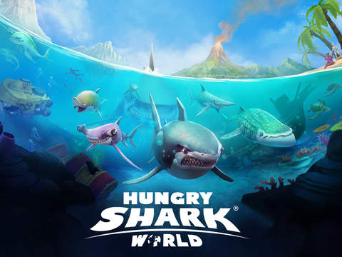 Hungry Shark World Screenshots