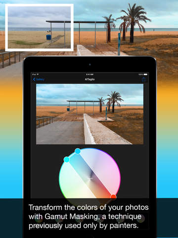 Colors AlTaglio - Color Photo Editor Screenshots