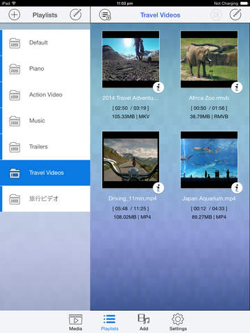 Media Player HD PRO - Play Mkv, Mov, Mpg, Wmv video Screenshots