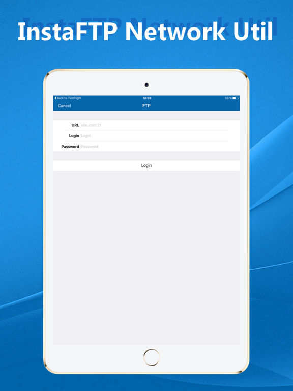 InstaFTP Screenshots