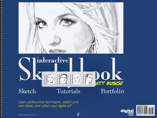 Interactive Sketchbook iPad Screenshot 1