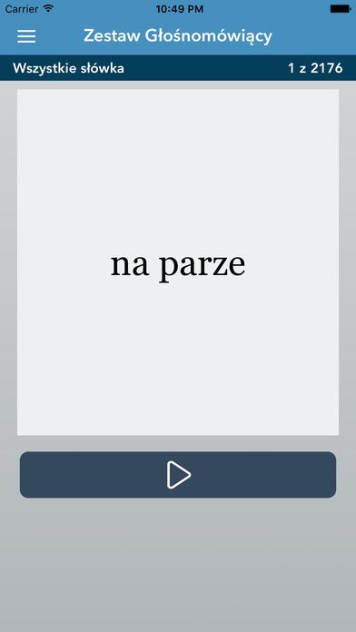AccelaStudy® Polish | Dutch iPhone Screenshot 3