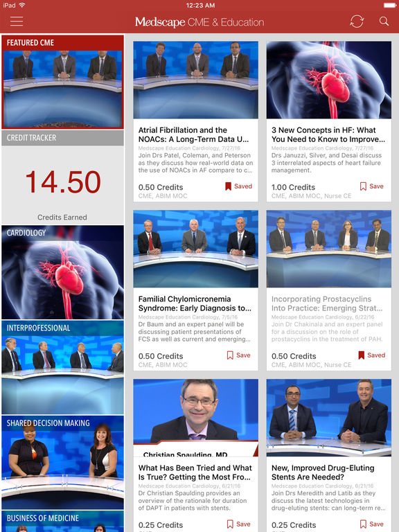 What is the Medscape CME Tracker?