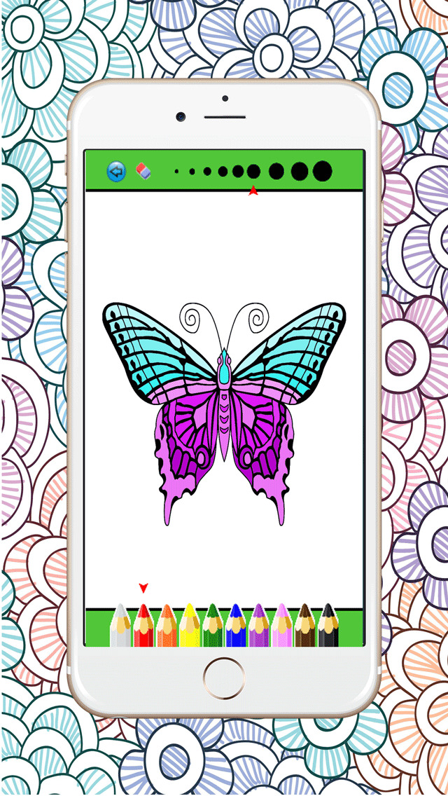 App Shopper Mandala Coloring Page Best Colors Therapy