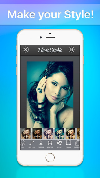 Photo Studio HD - Image editing, effects, and collage Screenshots