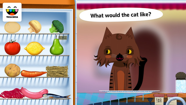 Toca Kitchen Screenshots
