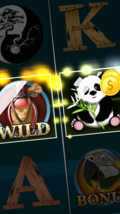 Screenshot 1 Панда Кунг Фу Однорукий Бандит — Играть в Автоматы Слот Машина