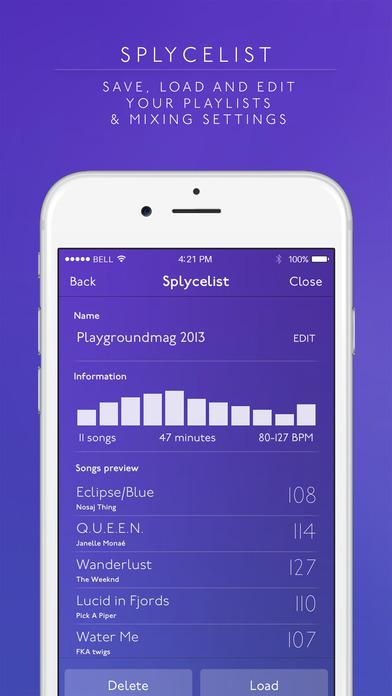 Splyce Premium - music player & dj mixer Screenshots
