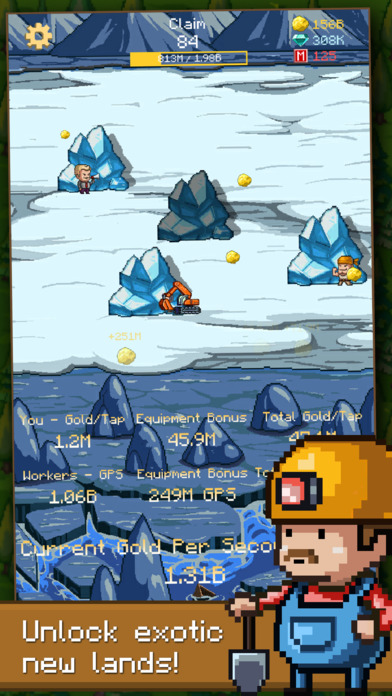 Goldcraft - Idle Games, Clicker Games Screenshot