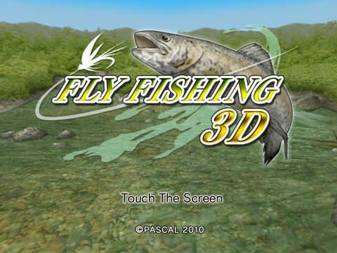 Fly Fishing 3D HD Free iPad Screenshot 1