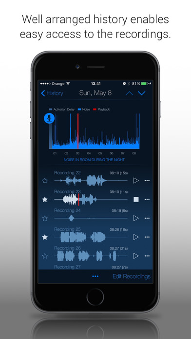 Sleep Talk & Snoring Recorder screenshot 2