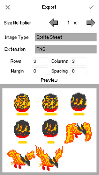 Sprite Creator Screenshots