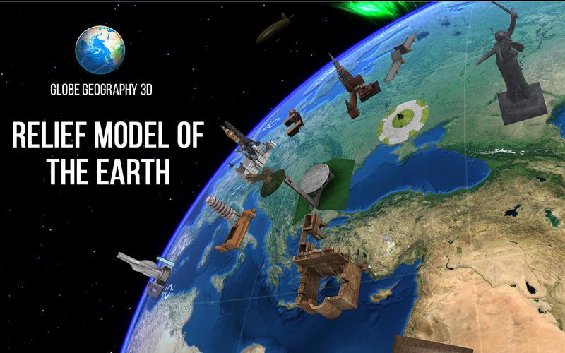 Globe Geography 3D Screenshot - 1