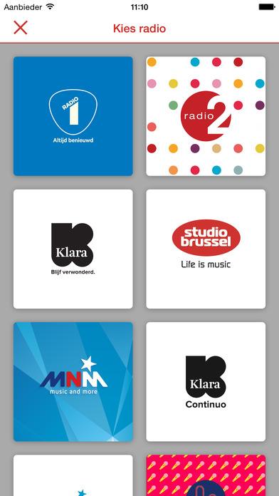 Studio Brussel iPhone Screenshot 5
