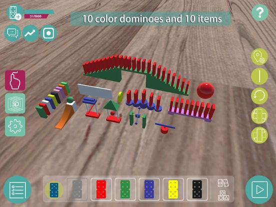 Domino craft - create real domino world Screenshots